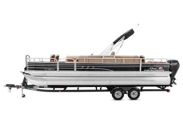 2021 Sun Tracker boat for sale, model of the boat is Fishin' Barge 24 DLX & Image # 8 of 16