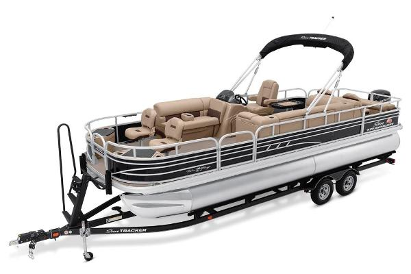 2021 Sun Tracker boat for sale, model of the boat is Fishin' Barge 24 DLX & Image # 6 of 16