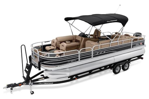 2021 Sun Tracker boat for sale, model of the boat is Fishin' Barge 24 DLX & Image # 9 of 16