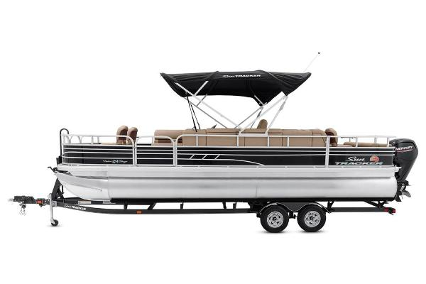 2021 Sun Tracker boat for sale, model of the boat is Fishin' Barge 24 DLX & Image # 10 of 16