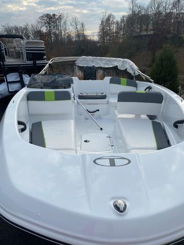2021 Tahoe boat for sale, model of the boat is T16 & Image # 7 of 9