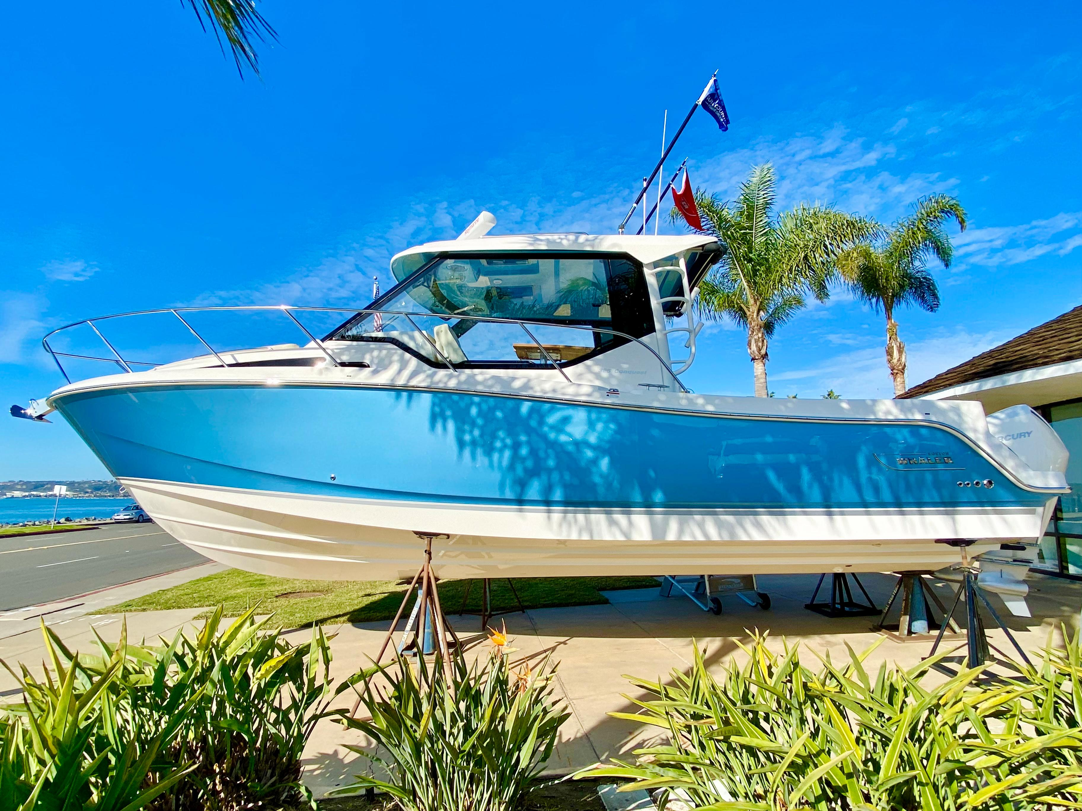 2021 Boston Whaler 325 Conquest #BW1044J inventory image at Sun Country Coastal in San Diego