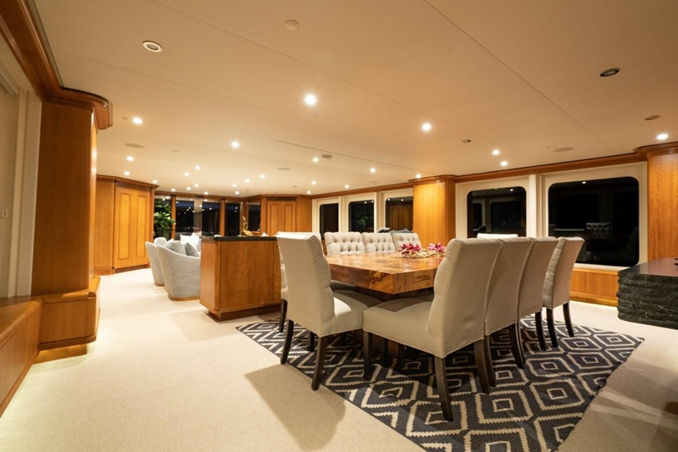 1997 Christensen 155' ''LOON'' - Dining