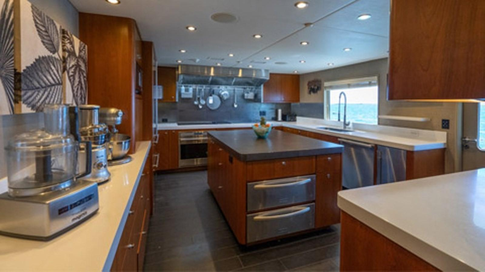 1997 Christensen 155' ''LOON'' - Galley