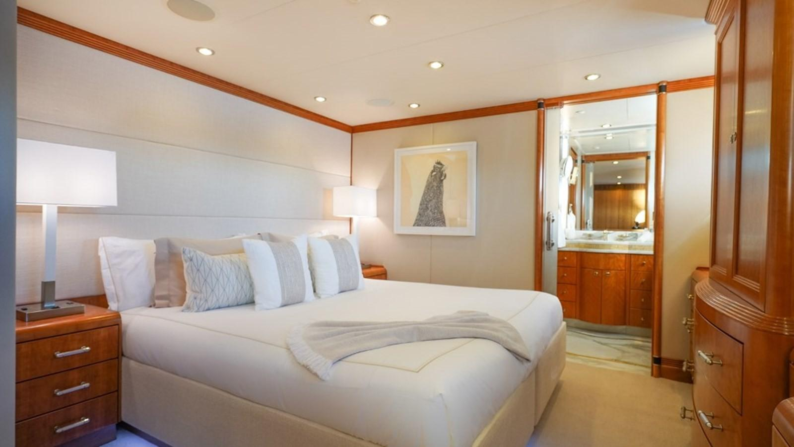 1997 Christensen 155' ''LOON'' - Starboard Forward Stateroom