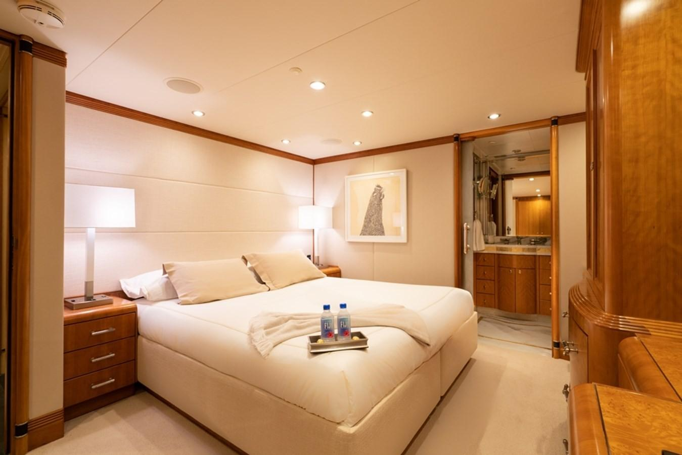 1997 Christensen 155' ''LOON'' - Starboard Forward Stateroom in king configuration