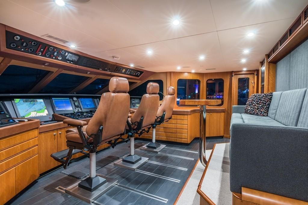 1997 Christensen 155' ''LOON'' - Pilothouse
