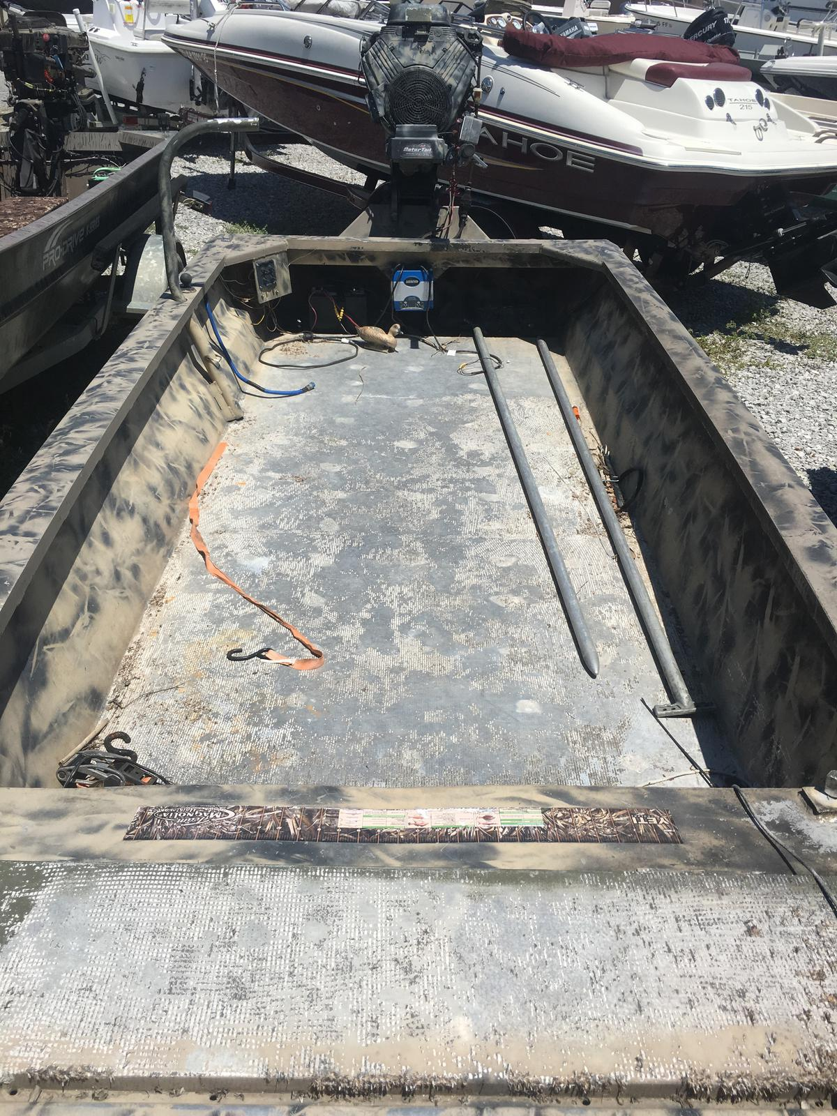2015 Extreme boat for sale, model of the boat is 1848 Mudboat 37HP Gatortail & Image # 6 of 6