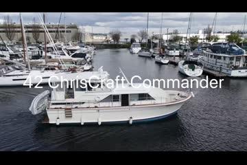 Chris-Craft Commander video