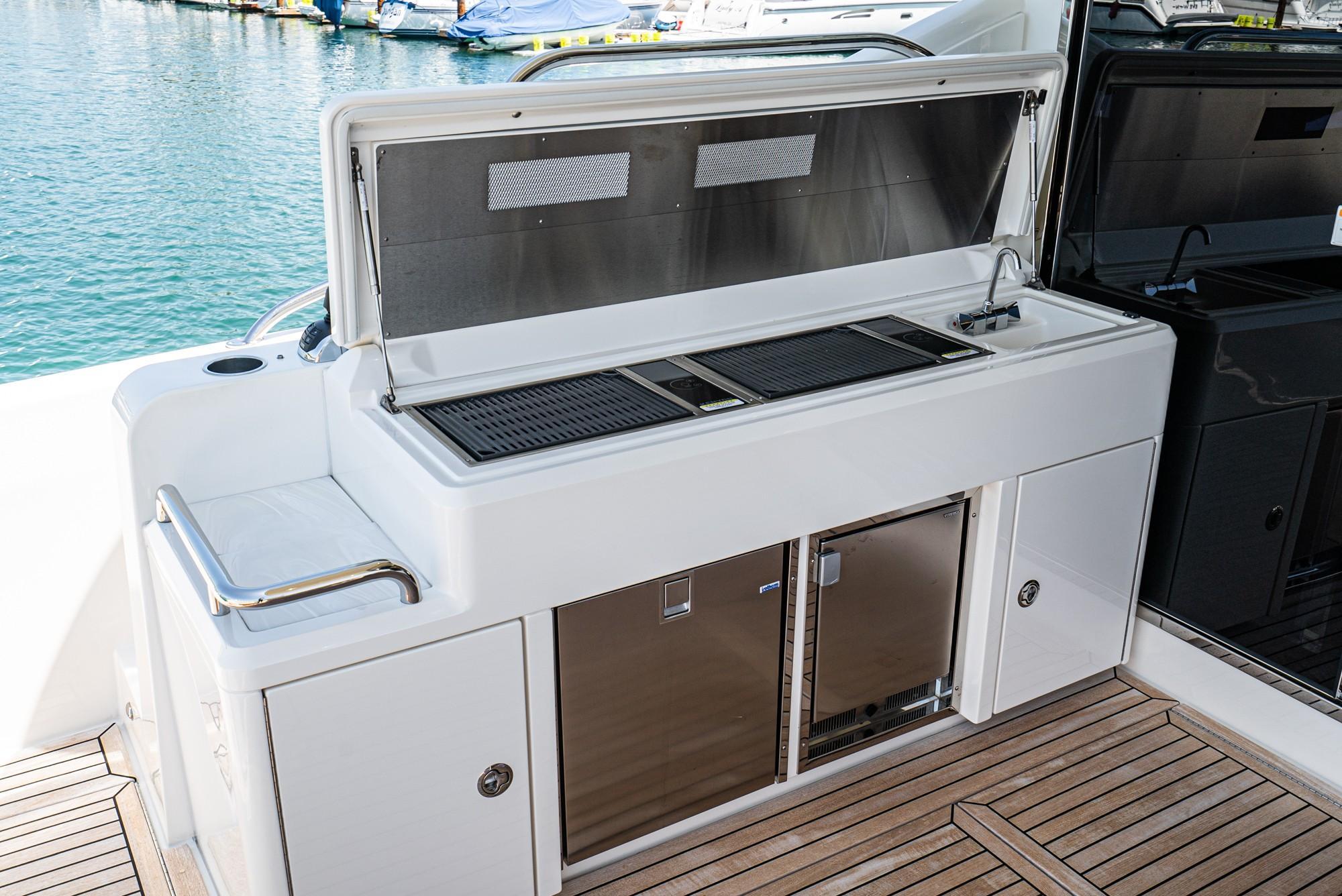 2019 Riviera 5400 Sport Yacht #TB4057MC inventory image at Sun Country Coastal in Dana Point