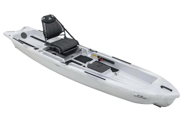 2021 Ascend boat for sale, model of the boat is 128X Yak-Power Sit-On - White/Black & Image # 1 of 5