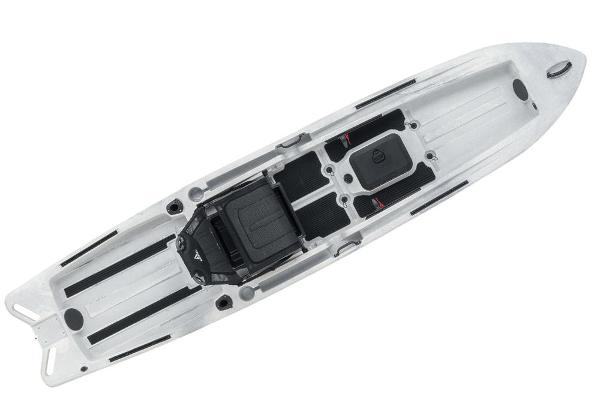 2021 Ascend boat for sale, model of the boat is 128X Yak-Power Sit-On - White/Black & Image # 5 of 5