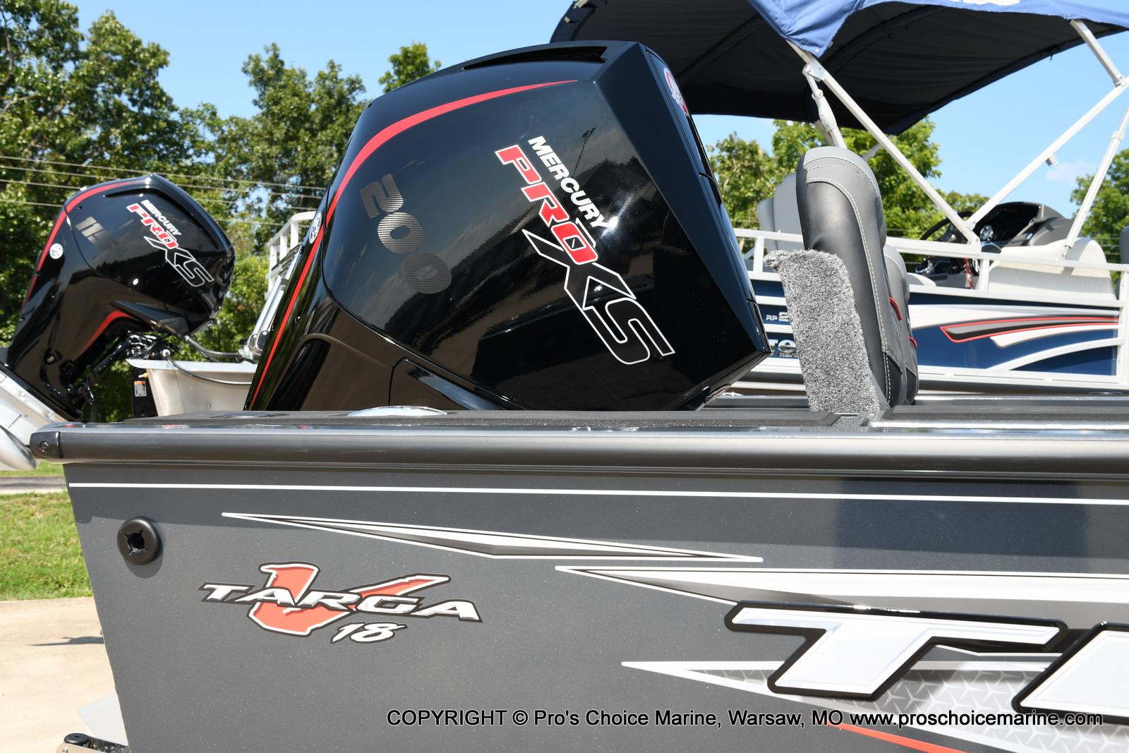 2021 Tracker Boats boat for sale, model of the boat is Targa V-18 Combo & Image # 15 of 45