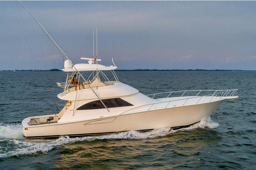 2014 Viking 62 Convertible - Mixer
