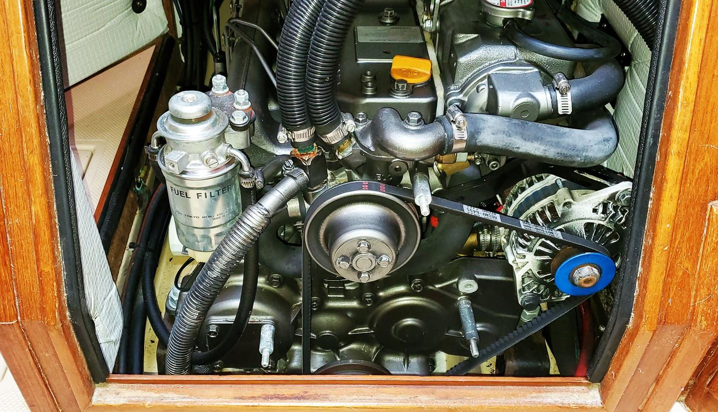 Front Engine Access