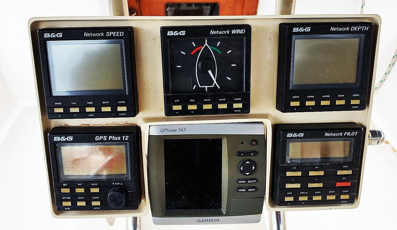 Electronics at Helm