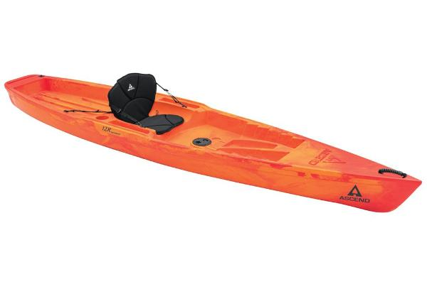 2021 Ascend boat for sale, model of the boat is 12R Sport Sit-On - Orange/Red & Image # 1 of 6