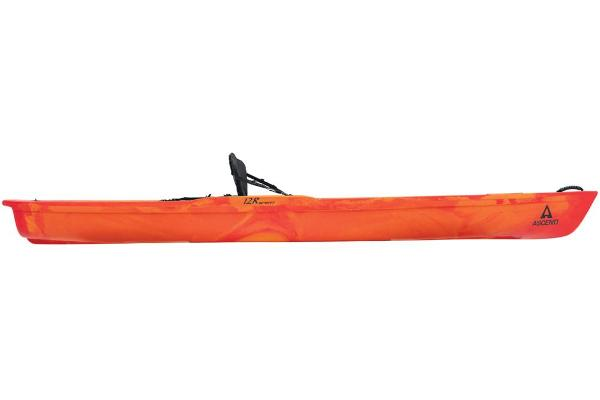 2021 Ascend boat for sale, model of the boat is 12R Sport Sit-On - Orange/Red & Image # 2 of 6