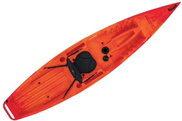 2021 Ascend boat for sale, model of the boat is 12R Sport Sit-On - Orange/Red & Image # 5 of 6