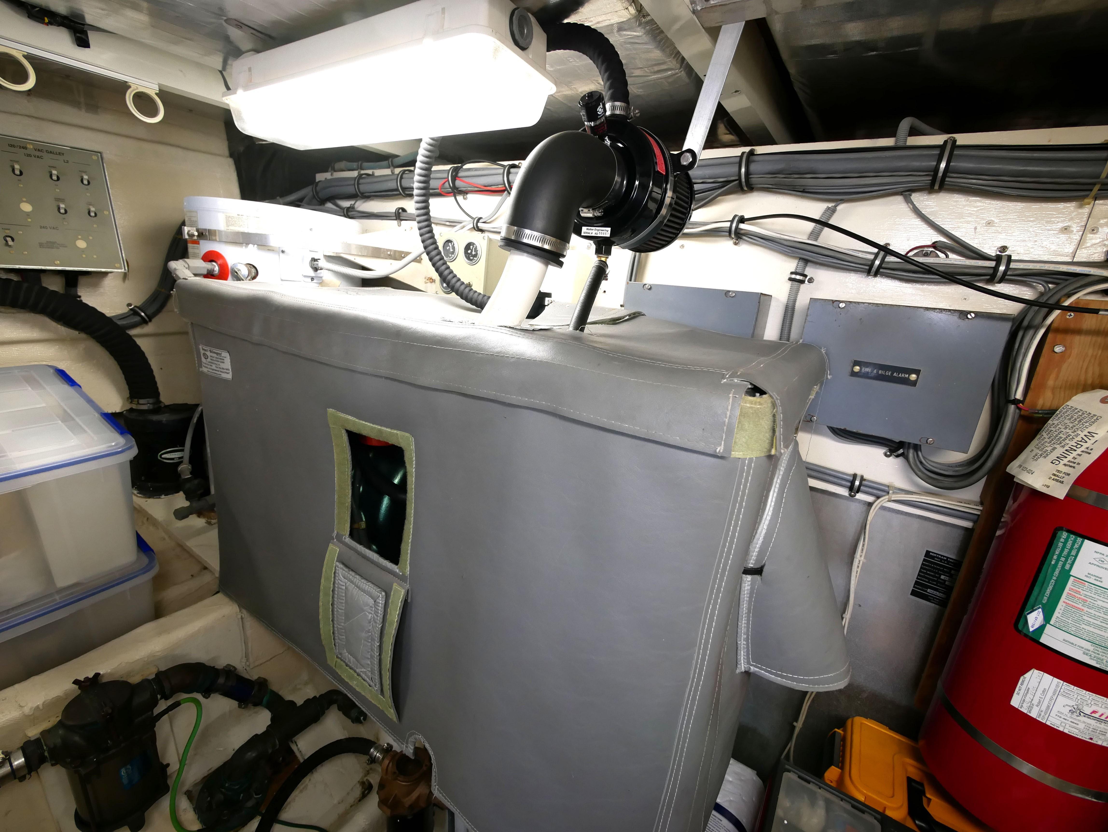 Generator in Engine Room