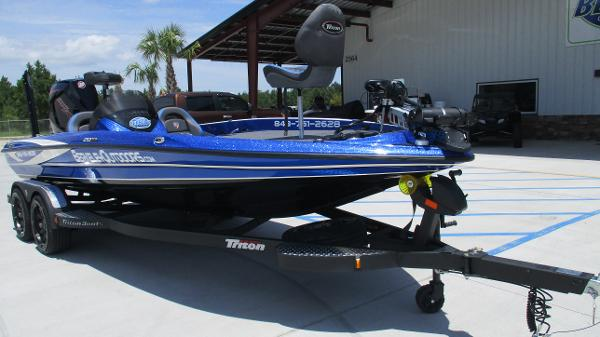 2020 Triton boat for sale, model of the boat is 20 TRX & Image # 1 of 68