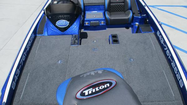 2020 Triton boat for sale, model of the boat is 20 TRX & Image # 11 of 68