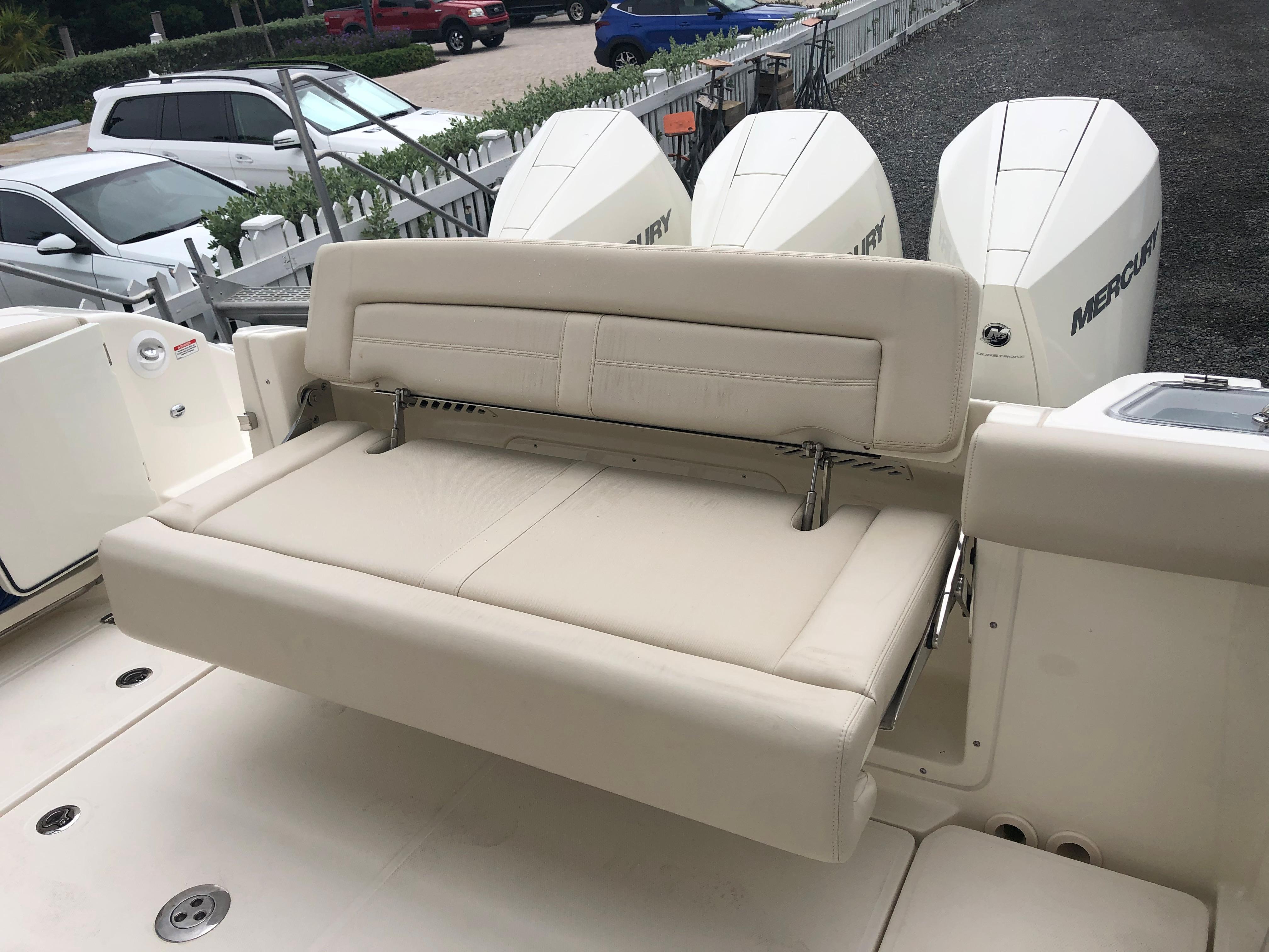 Foldout Stern Bench Seat
