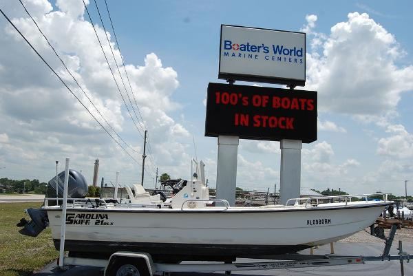 2007 CAROLINA SKIFF 21DLX for sale