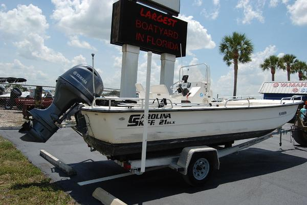 2007 Carolina Skiff boat for sale, model of the boat is 21DLX & Image # 5 of 12