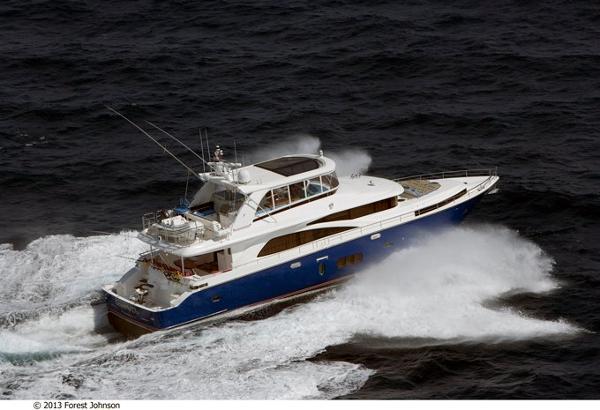 2021 JOHNSON 83' Flybridge w/Fishing Cockpit