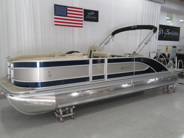 2021 Barletta boat for sale, model of the boat is L25UE Tri-toon & Image # 2 of 23