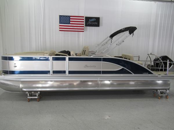 2021 Barletta boat for sale, model of the boat is L25UE Tri-toon & Image # 3 of 23