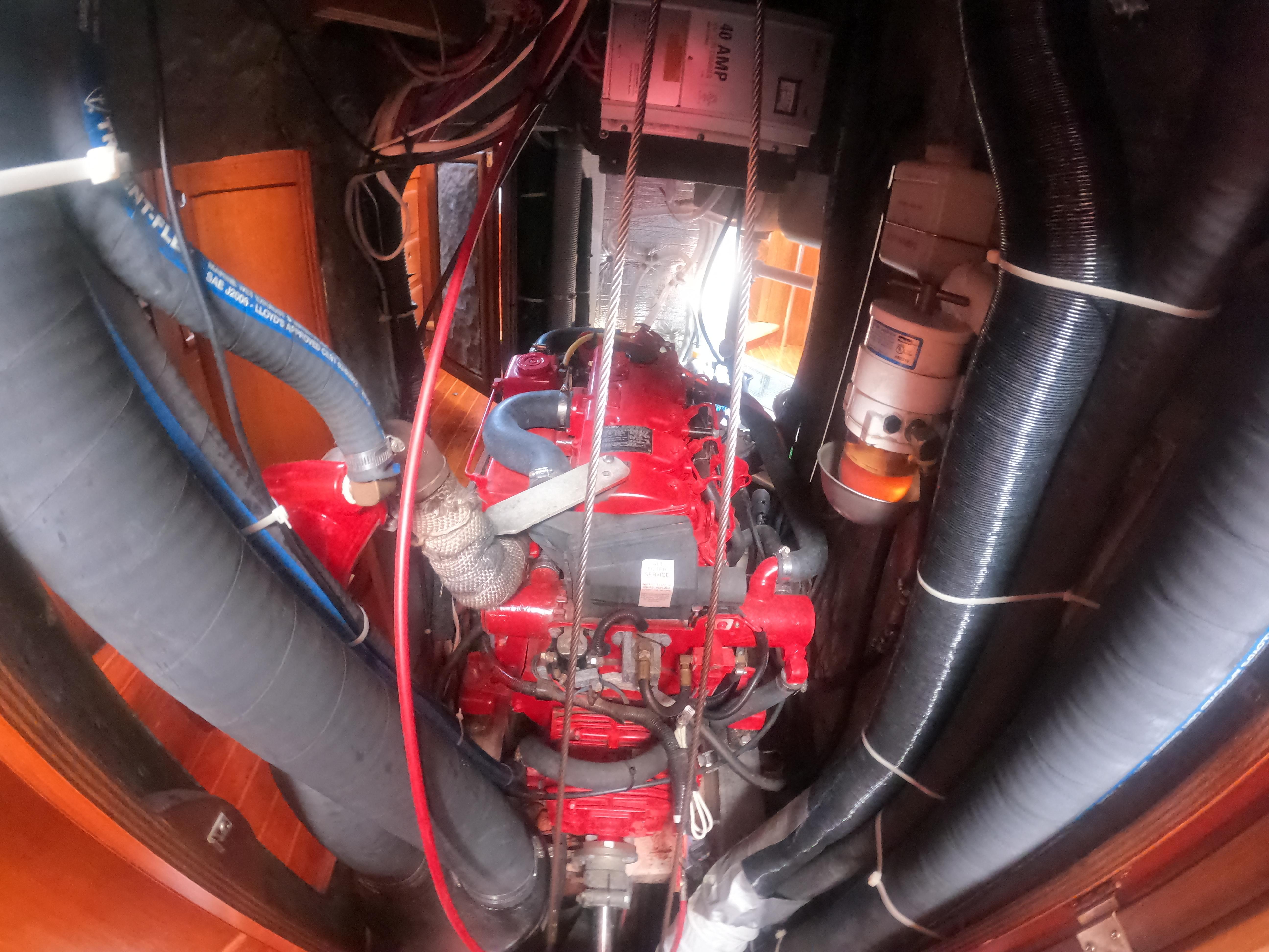 Aft Engine Access