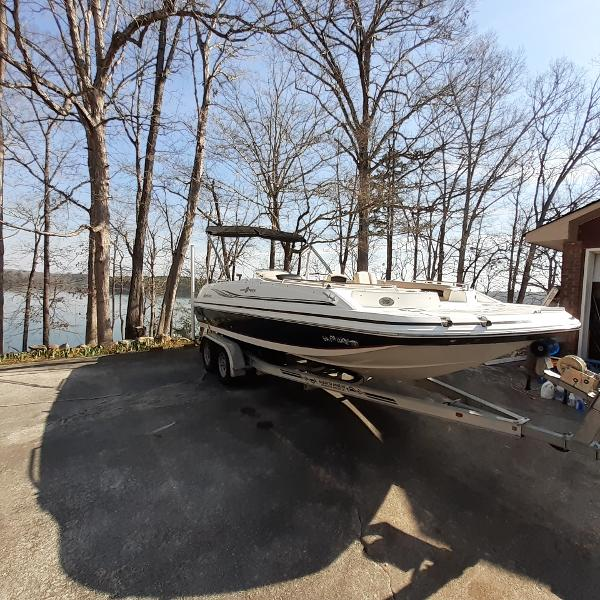 2014 Hurricane boat for sale, model of the boat is SunDeck Sport 201 I/O & Image # 2 of 12