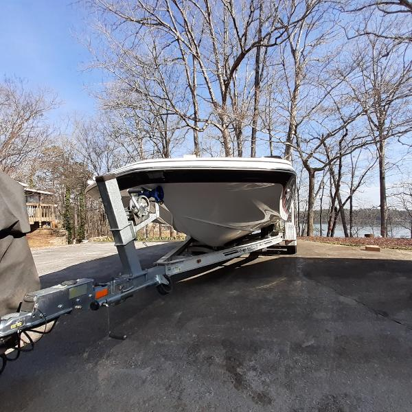 2014 Hurricane boat for sale, model of the boat is SunDeck Sport 201 I/O & Image # 5 of 12