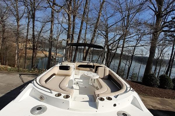 2014 Hurricane boat for sale, model of the boat is SunDeck Sport 201 I/O & Image # 12 of 12