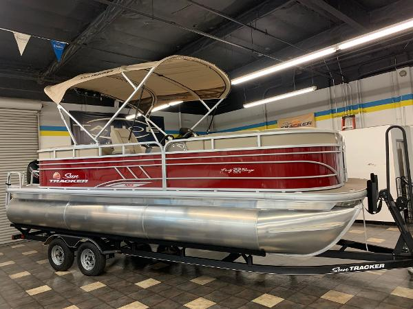 2021 SUN TRACKER PARTY BARGE 22 RF XP3 for sale