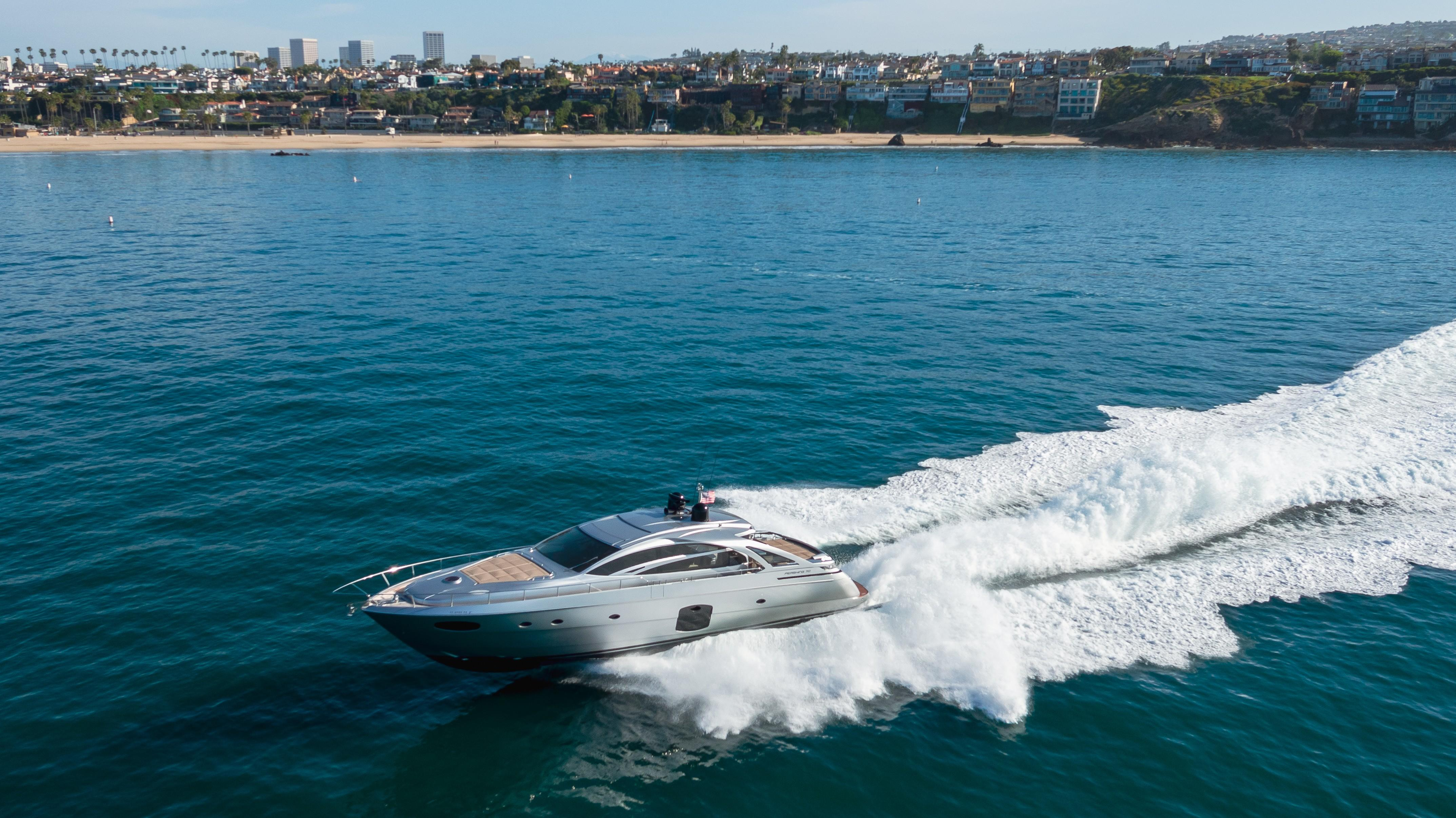 2018 Pershing 70 #TB15JR inventory image at Sun Country Yachts in Newport Beach