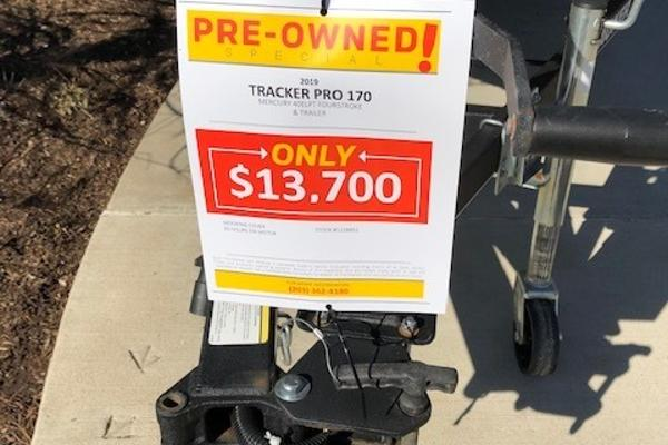 2019 Tracker Boats boat for sale, model of the boat is Pro 170 & Image # 4 of 7