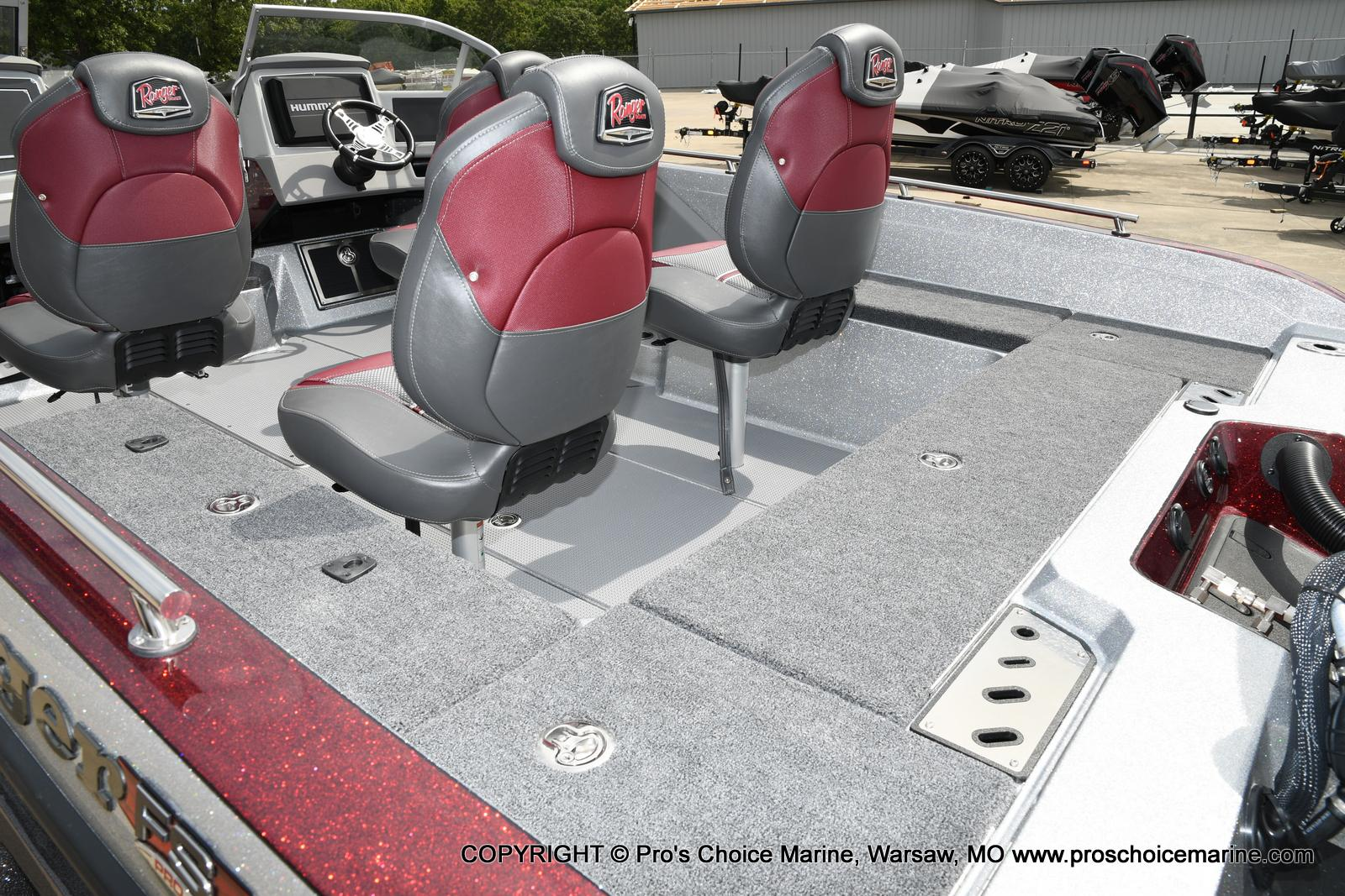 2021 Ranger Boats boat for sale, model of the boat is 622FS PRO w/400HP VERADO & Image # 19 of 50