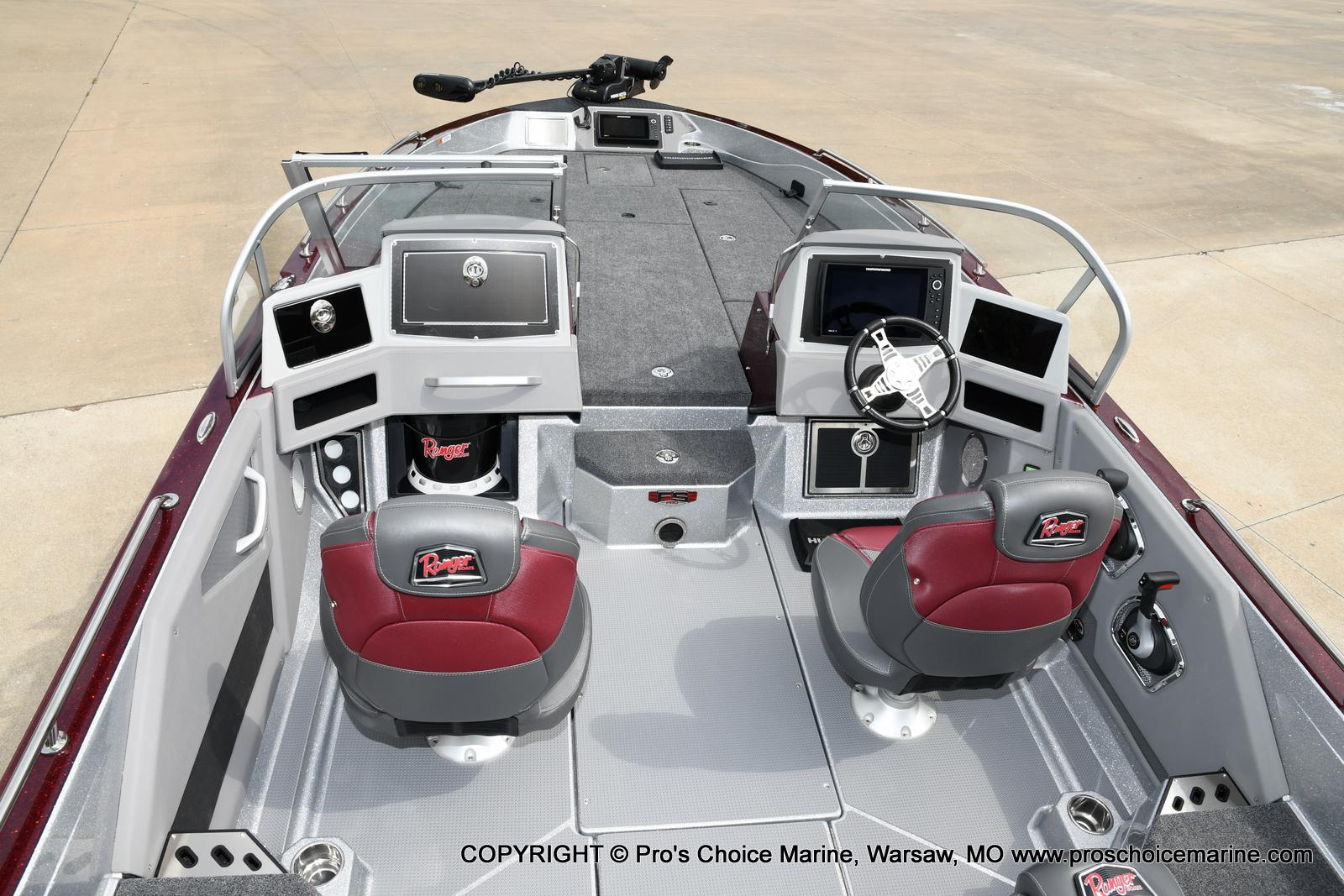 2021 Ranger Boats boat for sale, model of the boat is 622FS PRO w/400HP VERADO & Image # 21 of 50
