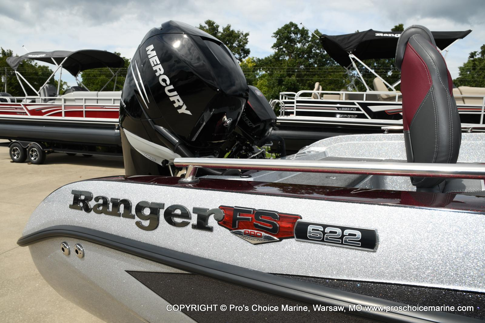 2021 Ranger Boats boat for sale, model of the boat is 622FS PRO w/400HP VERADO & Image # 32 of 50