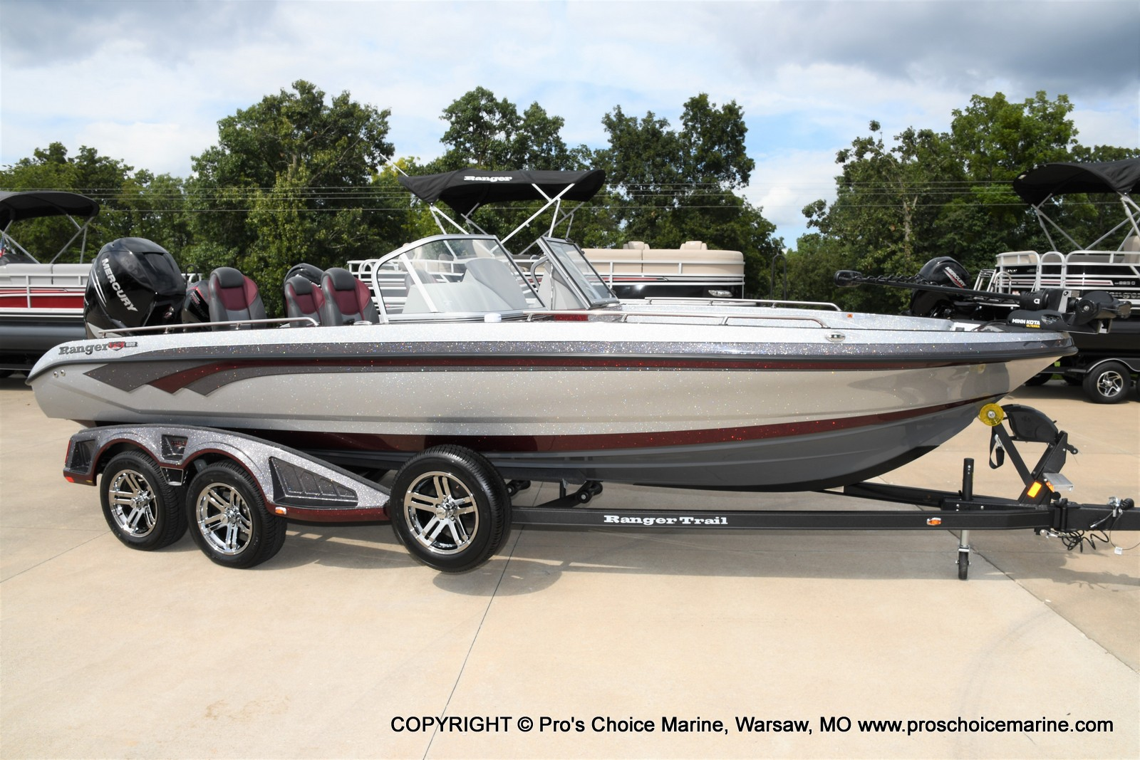 2021 Ranger Boats boat for sale, model of the boat is 622FS PRO w/400HP VERADO & Image # 2 of 50
