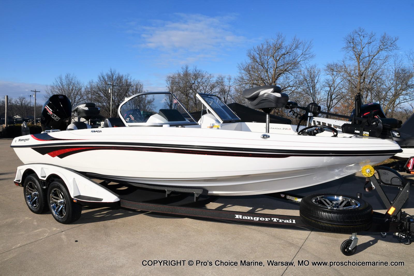 2021 Ranger Boats boat for sale, model of the boat is 212LS w/250HP Mercury Pro-XS 4 Stroke & Image # 50 of 50
