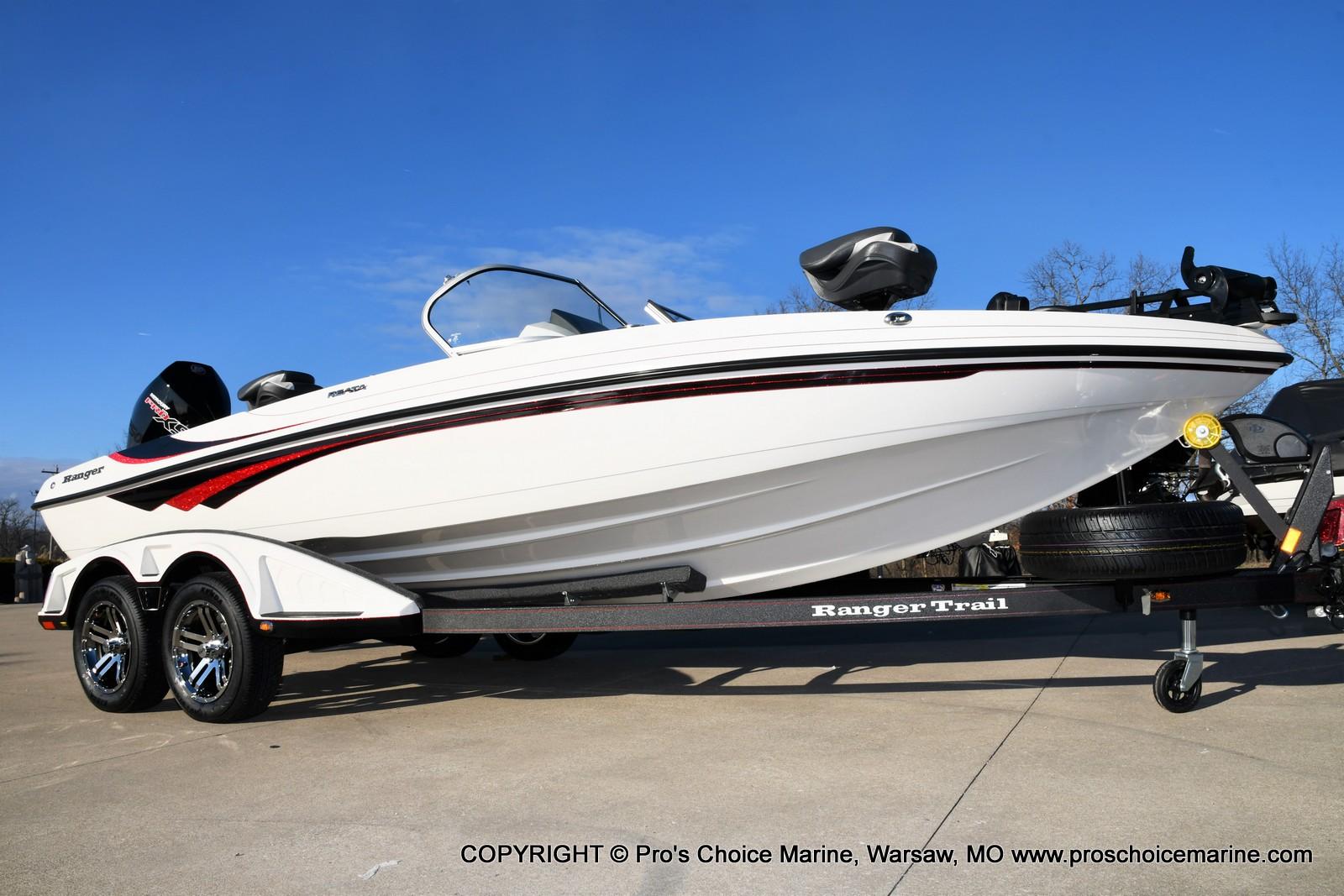 2021 Ranger Boats boat for sale, model of the boat is 212LS w/250HP Mercury Pro-XS 4 Stroke & Image # 1 of 50