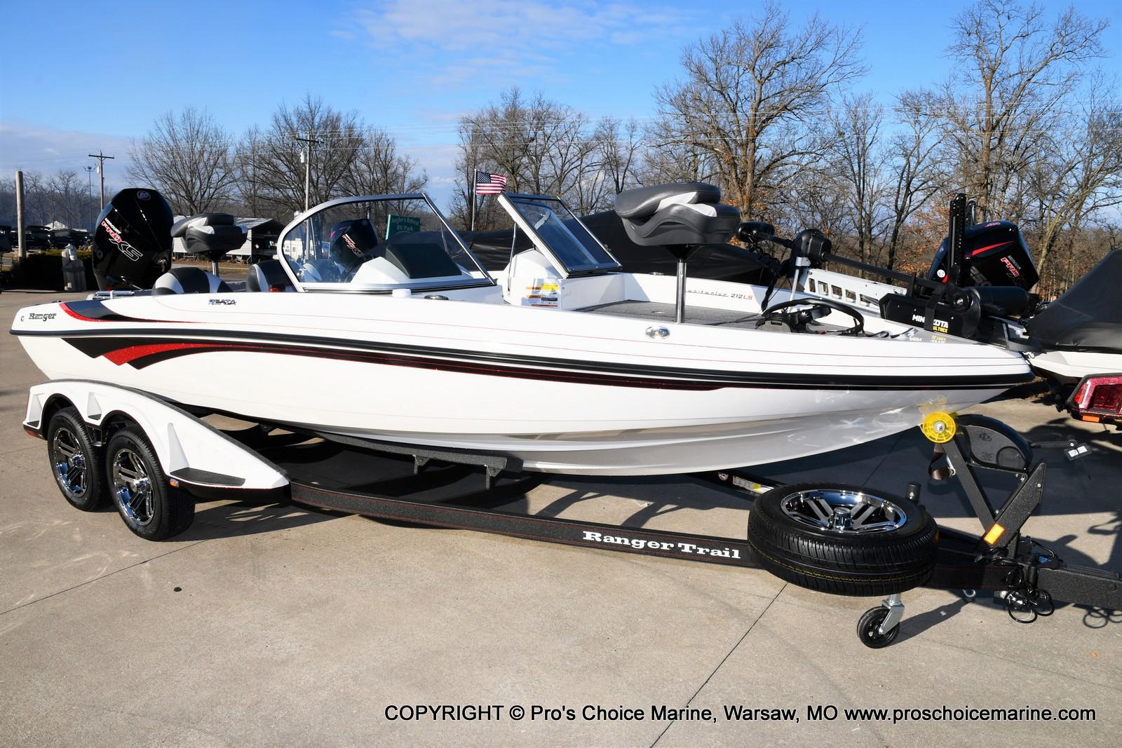 2021 Ranger Boats boat for sale, model of the boat is 212LS w/250HP Mercury Pro-XS 4 Stroke & Image # 23 of 50
