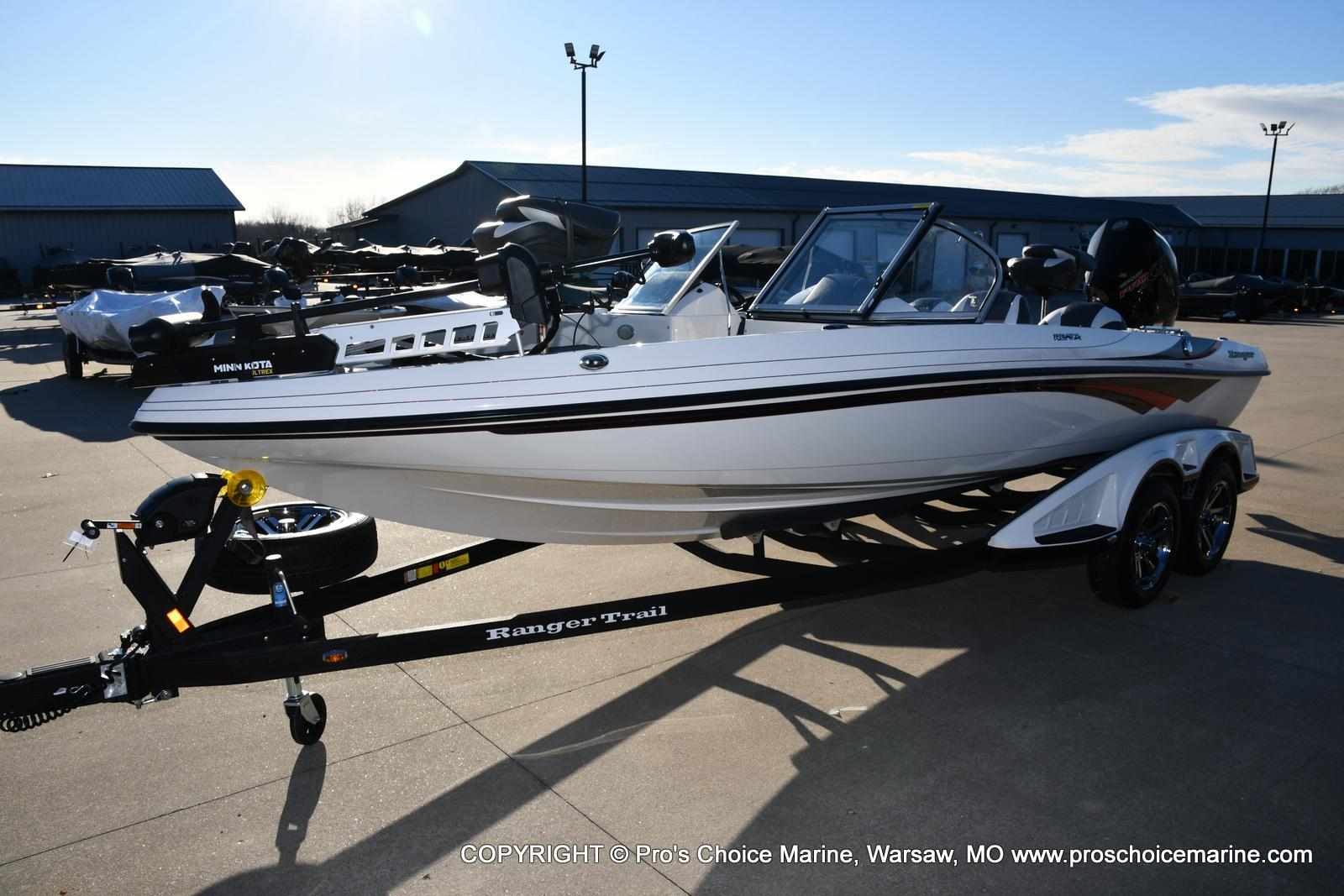 2021 Ranger Boats boat for sale, model of the boat is 212LS w/250HP Mercury Pro-XS 4 Stroke & Image # 38 of 50