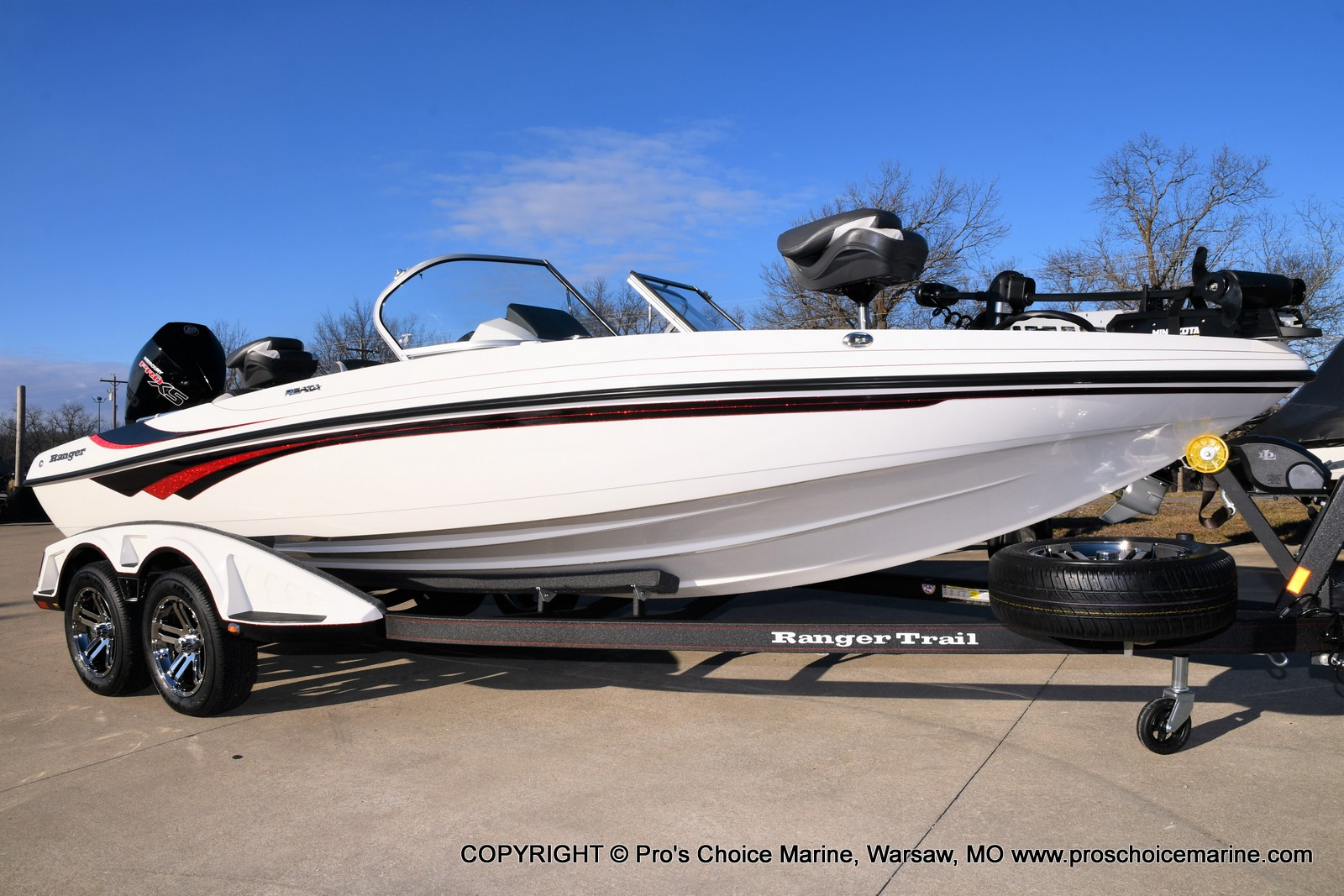 2021 Ranger Boats boat for sale, model of the boat is 212LS w/250HP Mercury Pro-XS 4 Stroke & Image # 49 of 50
