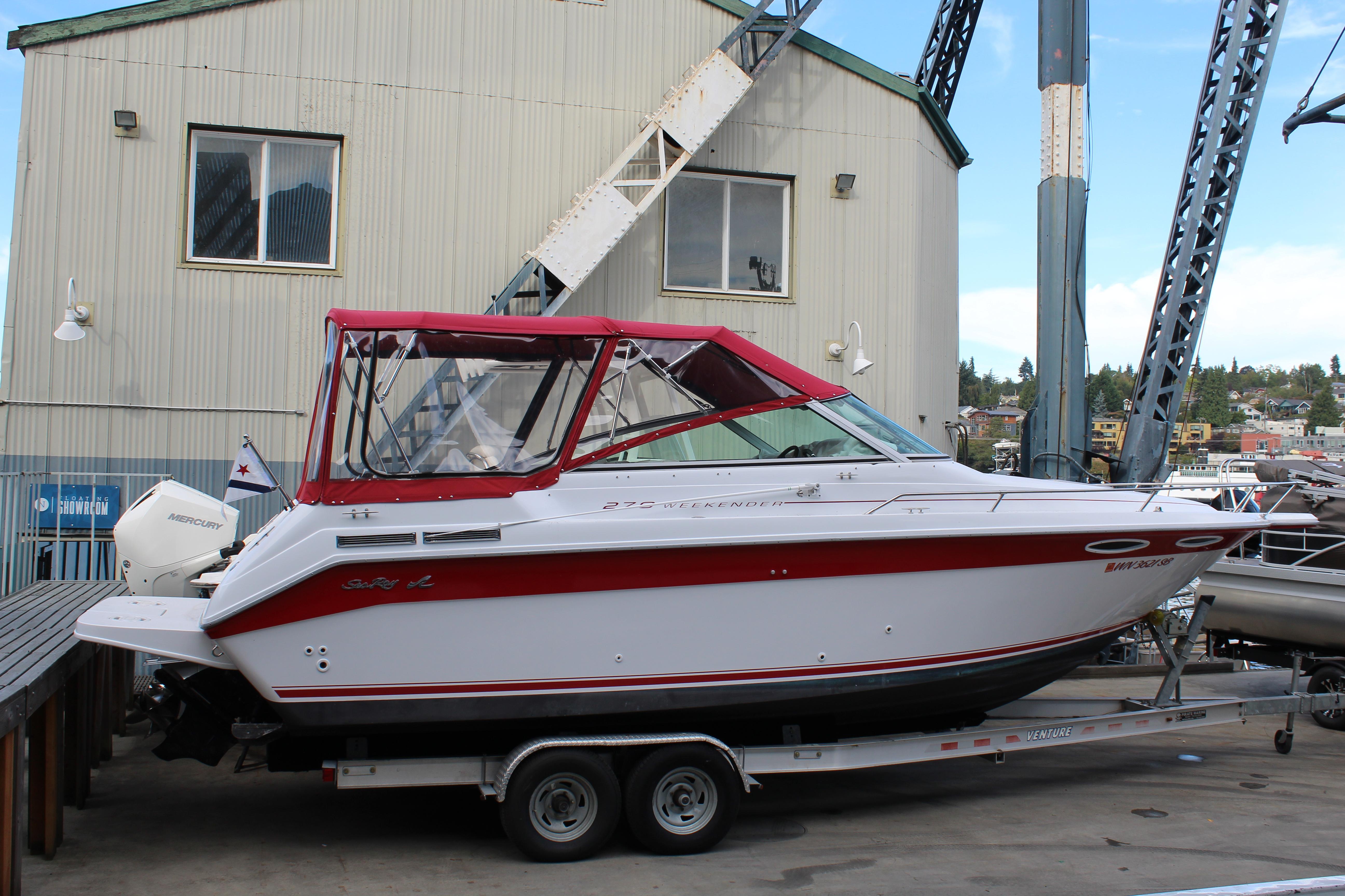 1992 Sea Ray 270 Weekender
