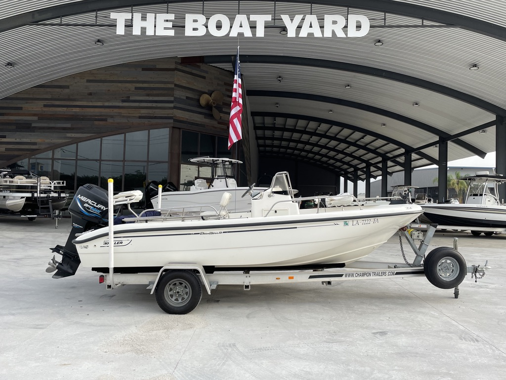 2000 BOSTON WHALER 180 for sale